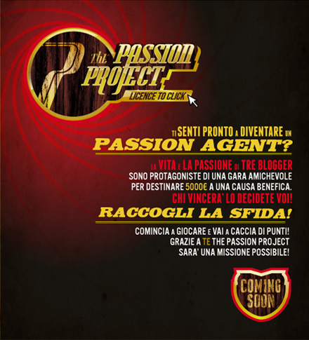 The Passion Project is coming soon
