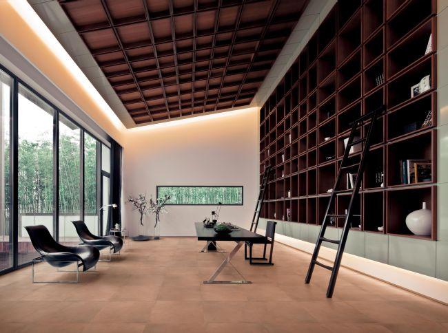 Le mattonelle cemento si mescolano perfettamente per - Blog decorazione interni ...