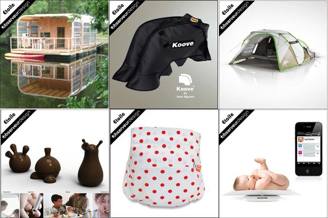 Etoiles Observeur du Design 2013