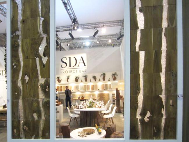 SDA Décoration paroi bois résine