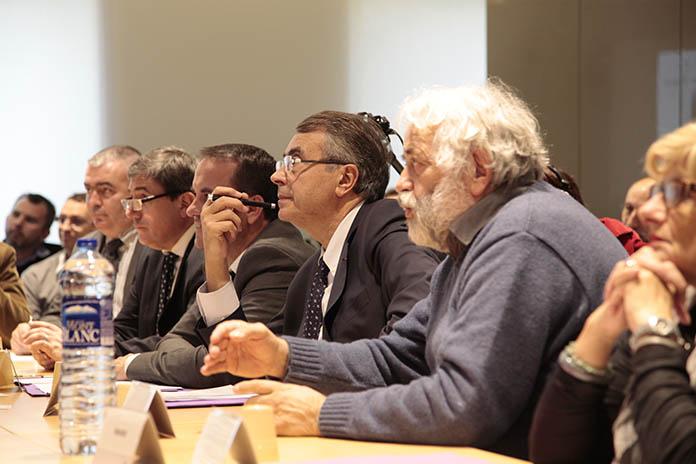 Jean-Jack Queyranne et Gérard Leras