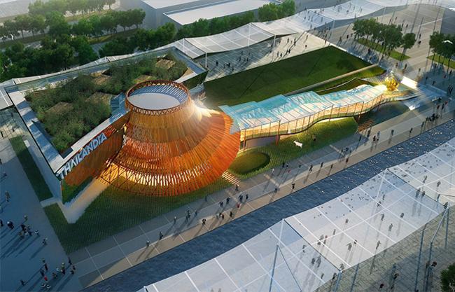 pavillon thaïland exposition milan 2015