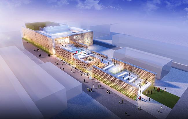 pavillon japonais exposition universelle de milan