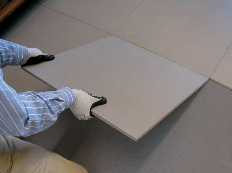 come posare piastrelle su un pavimento in ceramica esistente. Black Bedroom Furniture Sets. Home Design Ideas