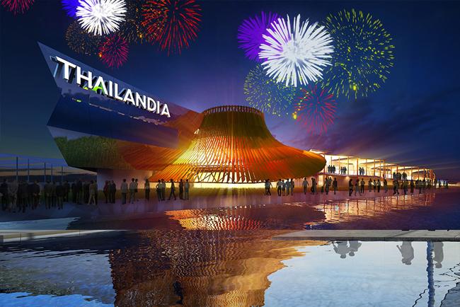 exposition universelle Milan 2015 pavillon thaïlandais