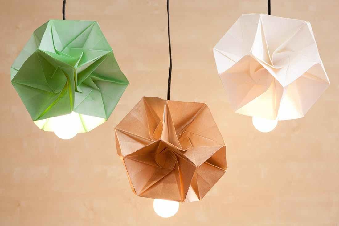 Lampada Origami Istruzioni : Lampada diy come costruirsi una lampada