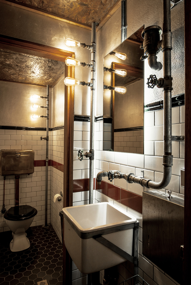 Preferenza Stile industriale: idee decorative per il vostro bagno VP42