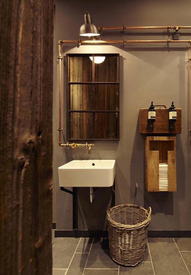 abbastanza Stile industriale: idee decorative per il vostro bagno BJ88