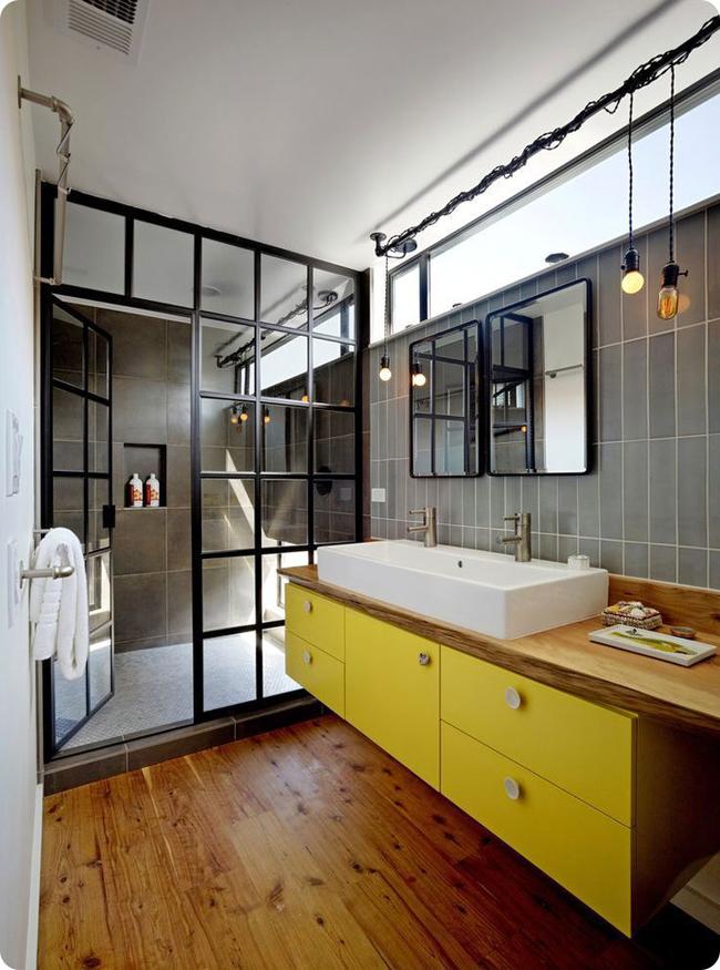 Vetrate design bagno