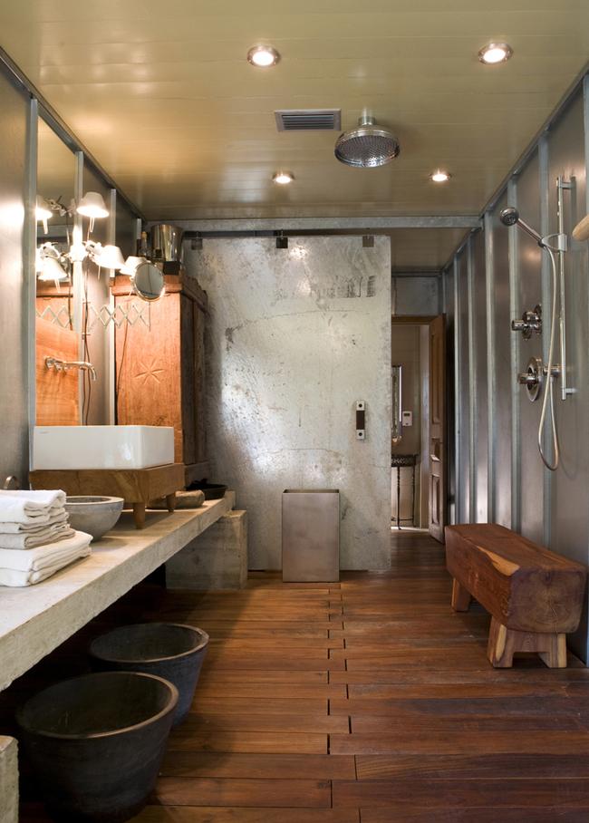 Doccia stile loft Newyorkese