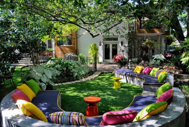 Arredi colorati per terrazzi