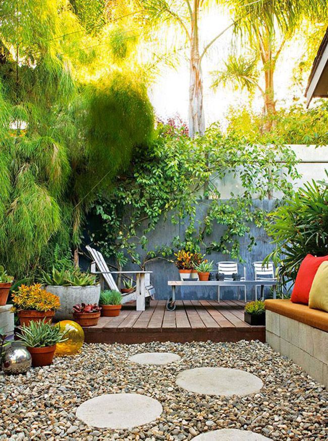 Arredamenti design per terrazza