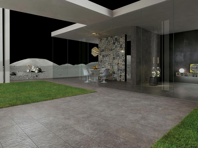 Piastrelle effetto maiolica per pavimenti in gres porcellanato