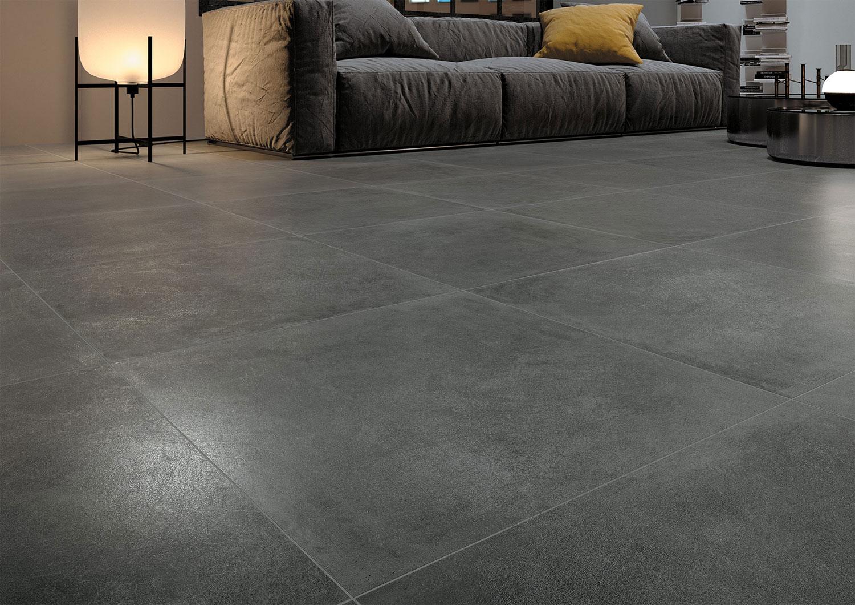 Piastrelle effetto metallo per casa e interni in gres porcellanato