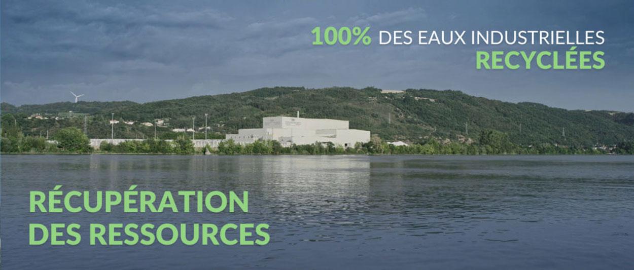 Acqua industriale riciclata al 100%