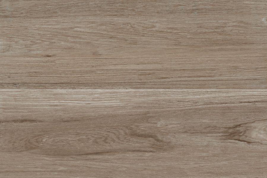 Piastrelle taupe effetto legno in gres porcellanato novoceram