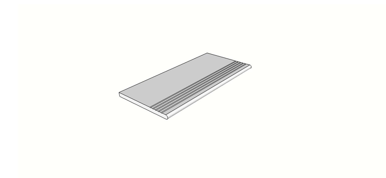 "Bordo arrotondato con antisdrucciolo <span style=""white-space:nowrap;"">30x60 cm</span>  <span style=""white-space:nowrap;"">sp. 20mm</span>"