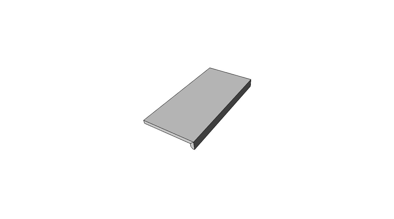 "Bordo a L incollato <span style=""white-space:nowrap;"">30x60 cm</span>  <span style=""white-space:nowrap;"">sp. 20mm</span>"
