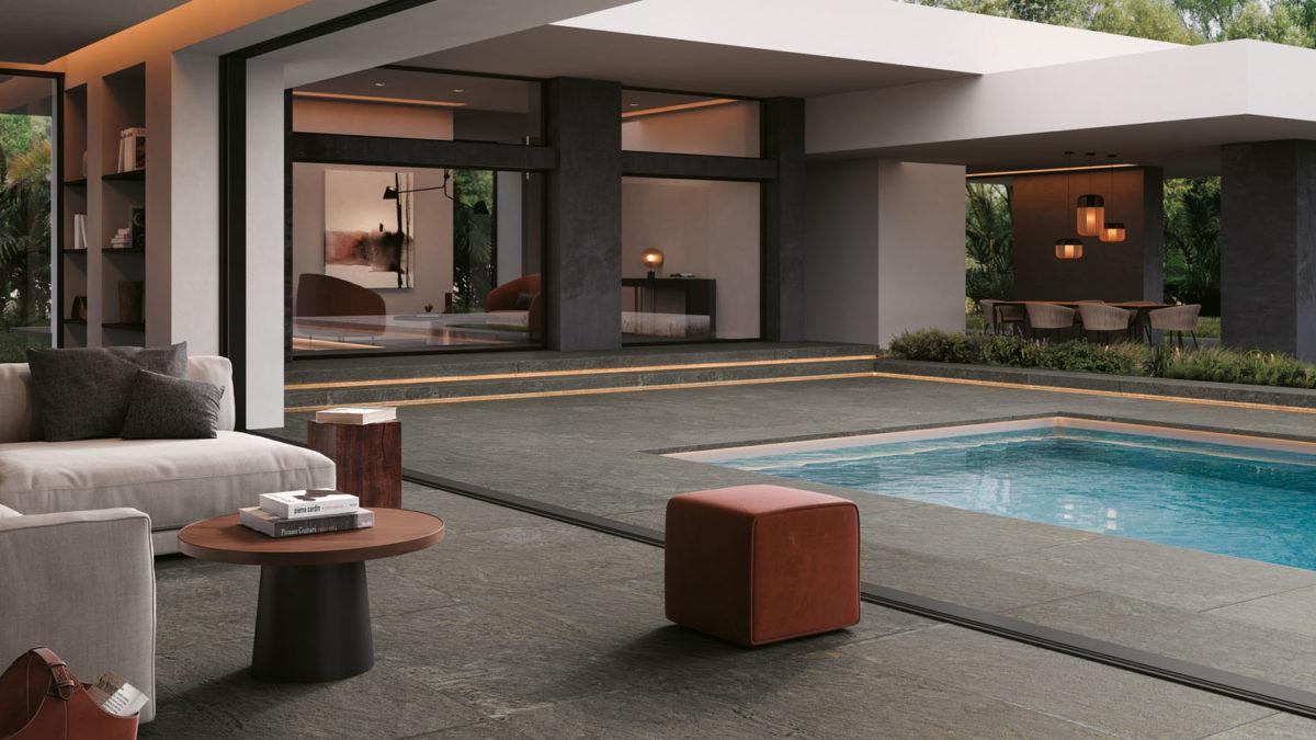 Losa Graphite 60x120 & 60x120 Outdoor Plus