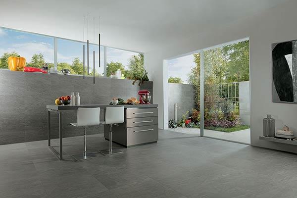 piastrelle cucina pavimento interno