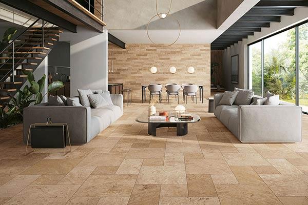 piastrelle pavimento interno